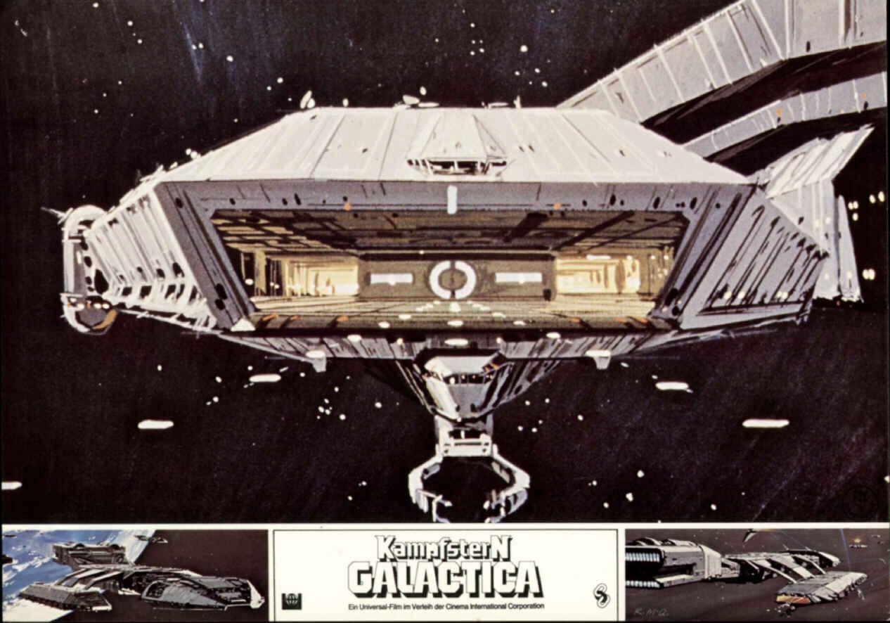 Kampfschiff Galactica